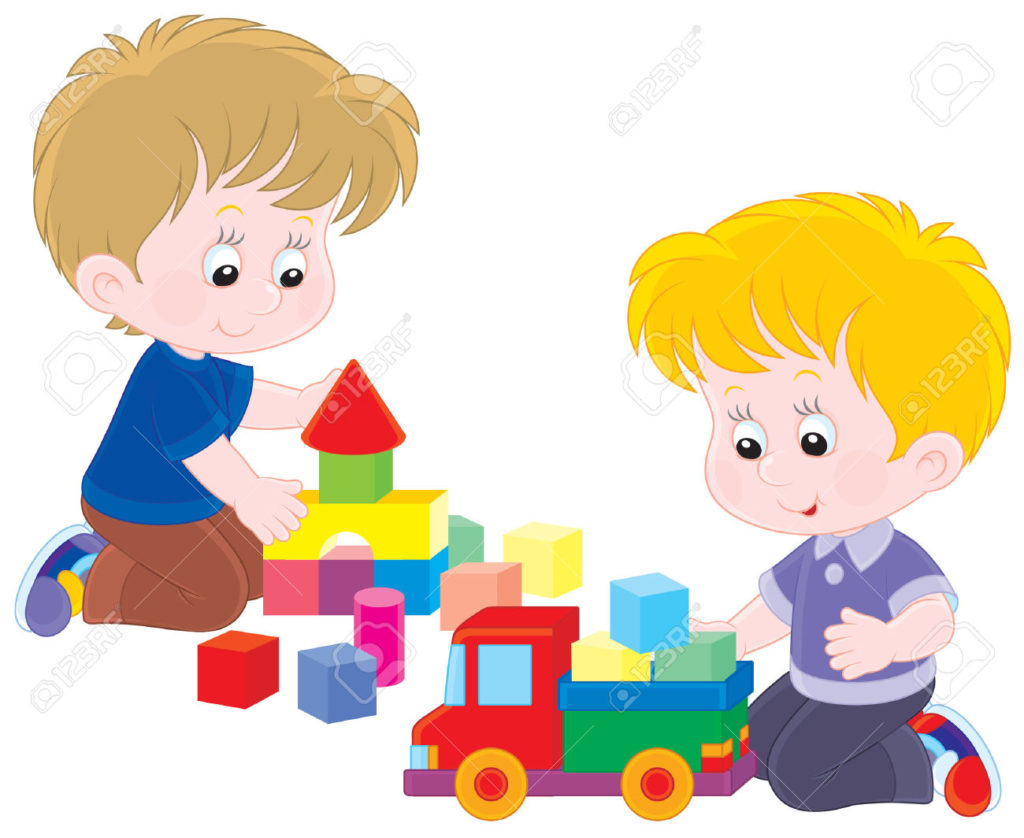children playing toys clipart - photo #3
